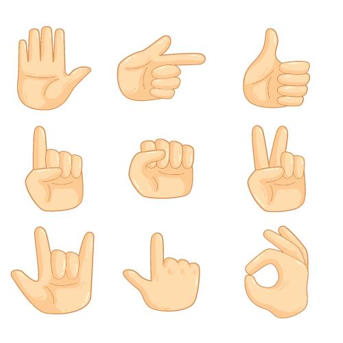 imagen de lengua de señas